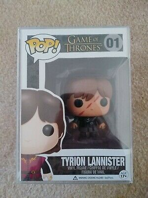 Game Of Thrones Tyrion Lannister (Scarred) Popcultcha Exclusive Funko Pop #01