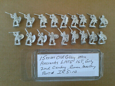 15mm Old Glory Miniatures Ancients Late 1st , Early 2nd Century Roman Auxillary
