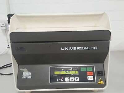 Hettich Universal 16 High-Speed Benchtop Centrifuge + Rotor 5000 RPM Lab