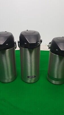Set of 3 Coffee Dispensers Hot Drink / Tea / Water Commercial Catering