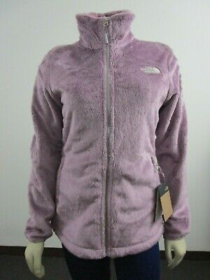 NWT Womens The North Face Osito Midweight Soft Fleece Full Zip Jacket - Purple