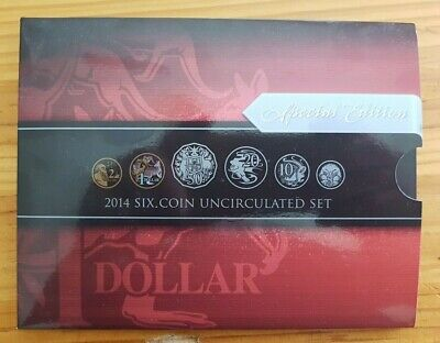 2014 Royal Australian Mint six coin uncirculated set Special Edition