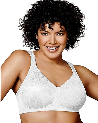 New Bra Playtex 18-Hour Ultimate-Lift-Support WireFree wt 4745 MSRP-$36.00 44DDD