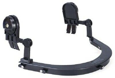 RS Pro ABS BLACK VISOR CARRIER Universal Slot Adapter, Easy To Clip-On