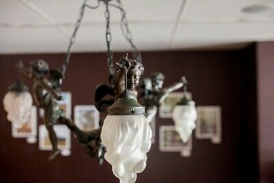 Vintage Cherub Lighting