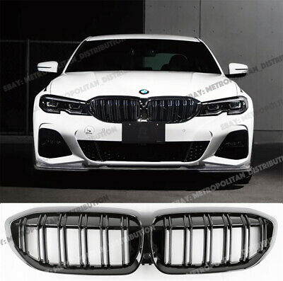 BMW OEM 2018 X3 Front Bumper Grille Grill-Outer Grille Right 51117420872