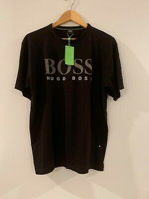 Hugo Boss Big Logo Men's Short Sleeve T-Shirt ** ( Summer Sale) )