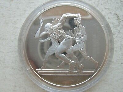 Greece Greek Coin USED 2 Euro Athens 2004 Olympic Games Discus Thrower