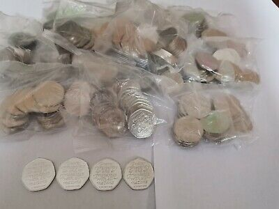Sealed Bag Of Brexit 50p fifty pence coin 20 x 50p 2020