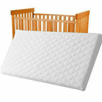Baby Toddler Cot Bed Mattress 120 x 60 x 7.5 cm QUILTED Breathable Waterproof