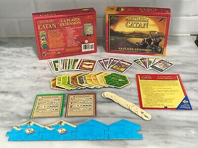 Settlers of Catan Board Game Extension 5-6 Players Trade Build Settle INCOMPLETE