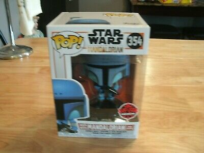 Funko Pop! 354 Star Wars The Mandalorian - Death Watch Two Stripes Eb Exclusive