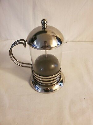French Press Tea/Coffee Maker  Pyrex Glass Stainless