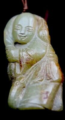 Qing Dynasty 1644/1911 Antique Chinese carved Jade figure