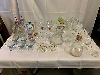 A Fabulous Job Lot Collection of Glasses - 56 Pieces!! Great Value!!