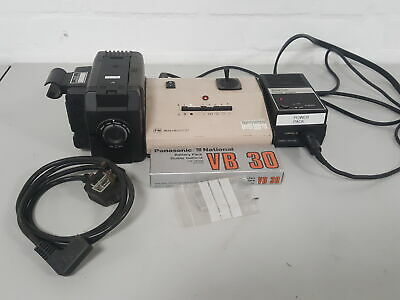 Panasonic F10 CCD Video Camera With FM Micro Point & Power Supply