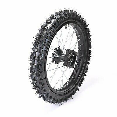 "12Mm Knobby Front Wheel Rim Tyre Tube 60/100-14"" Inch Dirt Pit Trail Bike Tire"