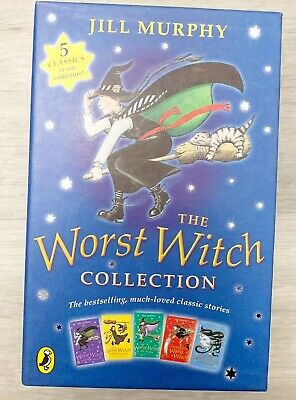 The Worst Witch 5 Book Collection By Jill Murphy - Box Set Stocking Filler