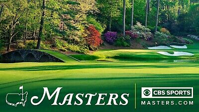1-4 2020 Masters Golf Tickets - Full Day Badge Saturday For New Date