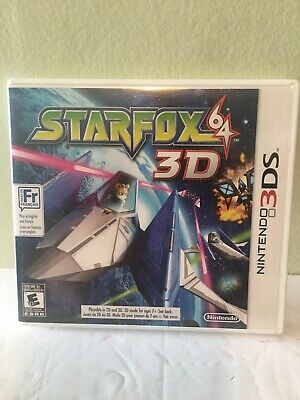 Star Fox 64 3D (Nintendo 3DS, 2011) (COMPLETE IN BOX)