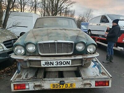 1978 Jaguar Xj6 L 4.2 Aut Barn Find Restoration Project Or Donor Vehicle