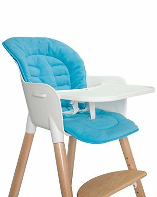 Portable Soft Waterproof Seat Cover Cushion Insert for Baby Feeding High Chair