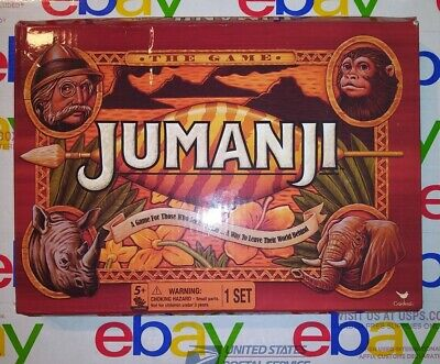 Jumanji Board Game Collectors Edition Classic Kids Activity Movie Merch RETRO