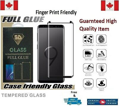 Case Friendly Samsung Galaxy S9+ PLUS Curved Tempered Glass Screen Protector