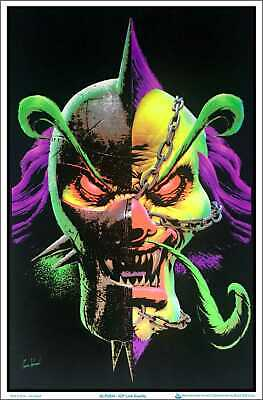 """ICP Link Duality by Tom Wood Blacklight Poster - Flocked 23"""" x 35"""""""