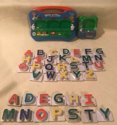 Leap Frog Word Whammer Fridge Phonics Set Magnetic Alphabet 39 Letters + Numbers