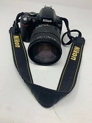 Nikon D40 Camera With Sigma Dc Lens Macro Hsm 17-70Mm 1:2.8-4 - Preowned