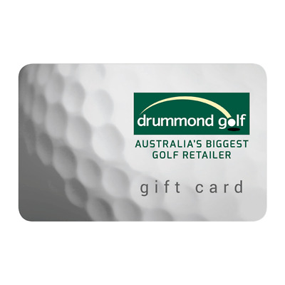 NEW Drummond Golf Gift Card