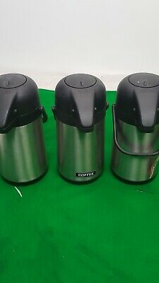 Set of 3 Olympia Coffee Dispensers Hot Drink / Tea / Water Catering