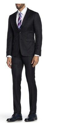 NWT Burberry London Stirling Travel Navy Suit 46 R