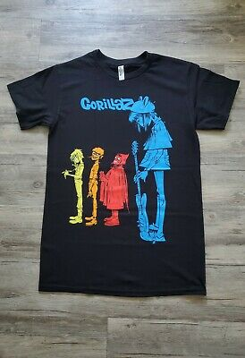 New Gorillaz Blue Noodles T Shirt