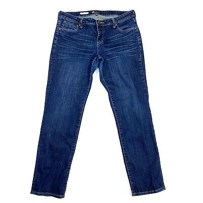 """Kut From The Kloth Size 12 Catherine Boyfriend Jeans 30"""" Inseam A21"""