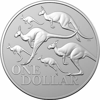 2020 $1 Kangaroo Series - Red Kangaroo 1oz .999 Silver Frosted Uncirculated Coin