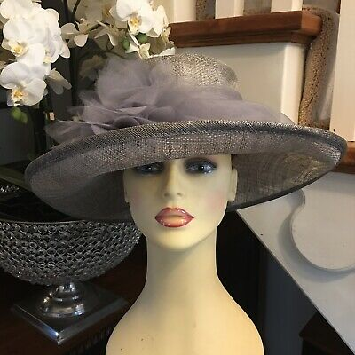 Wedding Hat Races Mother Bride 1000 Hats In Stock Silver Grey Taupe Seeberger