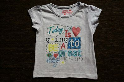 Girls' Grey T-Shirt 4-5 Years New with Tags