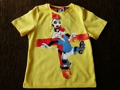 Boys' Yellow Cotton Sylvester Looney Tunes T-Shirt 2-3, 3-4 Years