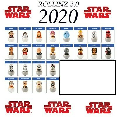 Star Wars Rollinz 3.0 2020 Esselunga