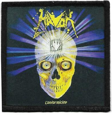 Havok - Conformicide -  printed patch - FREE SHIPPING