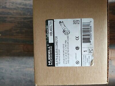 Hubbell HBL460c7w Female 60a 480v