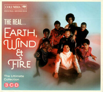 Earth, Wind & Fire - The Real .. (Ultimate Collection) 3 CD-Set Digipak Neu/OVP