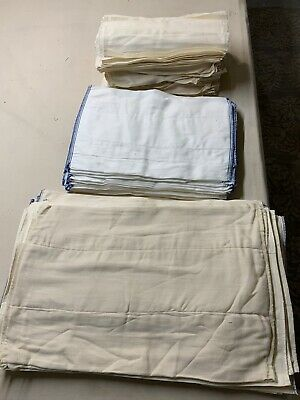 New Pre-fold cloth diapers Assorted Sizes Per Dozen