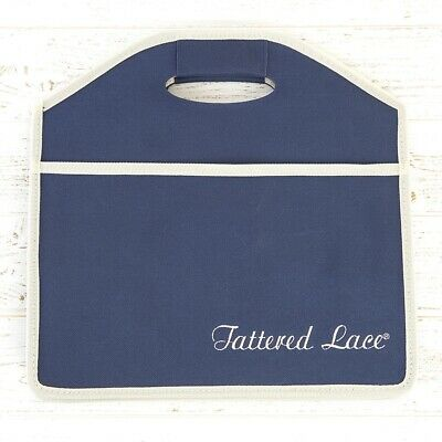 Tattered Lace Large Collapsible Craft Tidy (2 pocket) - Brand New