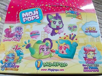 Moji pops PARTY Series 1.  brand new from blind bags select from drop down  menu