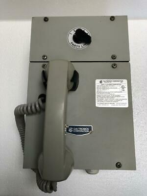 Gai-Tronics 701-302 Handset/ Speaker Amplifier 120 Vac 50-60 Hz (1)