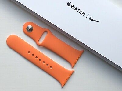 Genuine Apple Watch Sport Band Strap 38mm /40mm PAPAYA  **RARE**