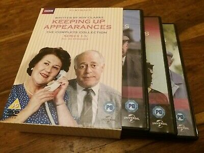 Keeping Up Appearances Complete Collection Series 1 2 3 4 5 UK R2 8x DVD Boxset